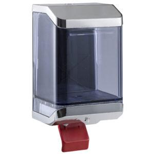 515cro dispenser sapone a riempimento con leva 110 ml cromato marplast