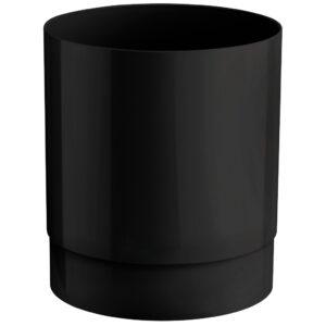 526ne cestino 13 l da tavolo nero marplast