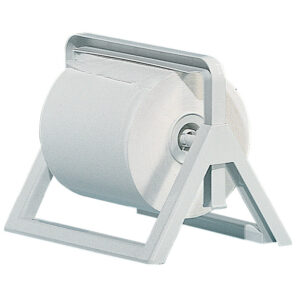533 supporto bobine industriale a parete o tavolo bianco marplast