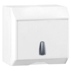 536 dispenser fogli carta interfogliata c v bianco marplast