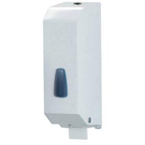 542al dispenser sapone riempimento 1200 ml inox laccato bianco marplast