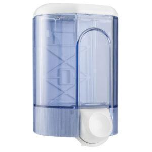 563tra dispenser sapone riempimento a parete 110 ml bianco marplast