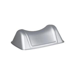 580sat coperchio basculante cestino rettangolare satiato maprlast