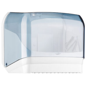 602 dispenser carta asciugamani c v trasparente marplast
