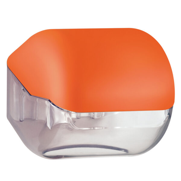619ar dispenser carta igienica foglietti rotolo arancione colored marplast