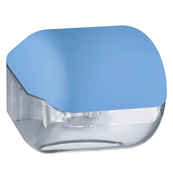 619az dispenser carta igienica foglietti rotolo azzurro colored marplast
