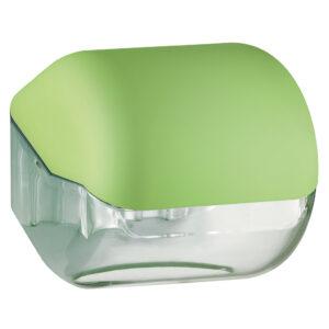 619ve dispenser carta igienica foglietti rotolo verde colored marplast
