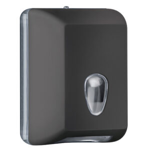 622ne dispenser carta igienica foglietti intercalati nero colored marplast