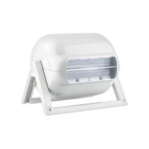 635 dispenser portarotolo industriale banco parete bianco marplast
