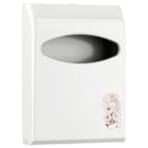662 dispenser carta copri wc mini bianco marplast