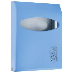 662az dispenser copriwater azzurro colored marplast
