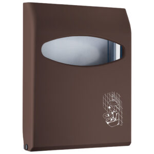662ma dispenser copriwater marrone colored marplast