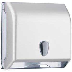 695sat dispenser carta asciugamani interfogliata c z satinato marplast