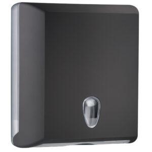 706ne dispenser carta asciugamani carta interfogliati z nero colored marplast