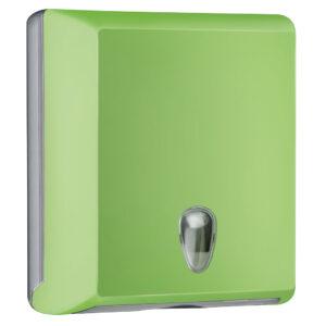 706ve dispenser carta asciugamani carta interfogliati z verde colored marplast