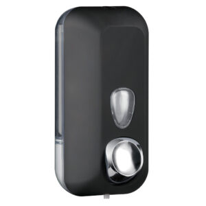 714ne dispenser sapone riempimento 055 l nero colored marplast
