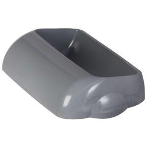 744grigio coperchio hidden raccolta differenziata grigio marplast