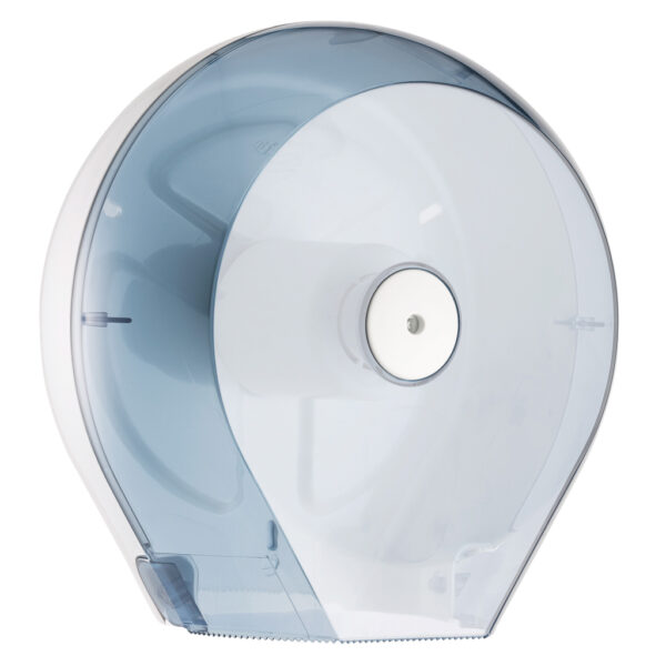 757 dispenser carta igienica mini jumbo rotolo trasparente marplast