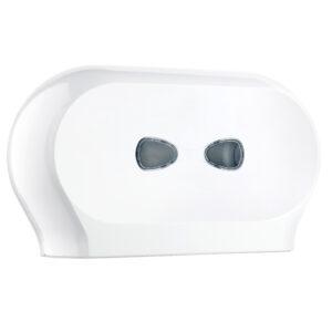 773 dispenser carta igienica doppio rotolo bianco marplast