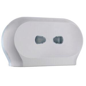 773sat dispenser carta igienica doppio rotolo satinato marplast