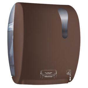 780ma dispenser carta asciugamani automatico marrone colored marplast
