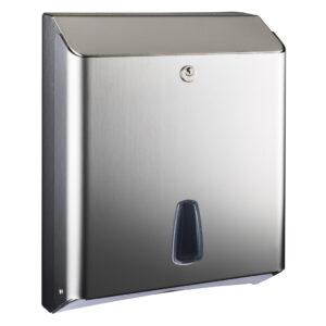 802satinato dispenser carta igienica intercalata z c acciaio inox satinato marplast