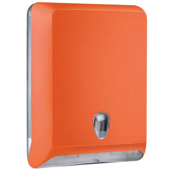 830ar dispenser carta asciugamani v c z arancione colored marplast