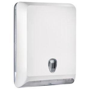 830bi dispenser carta asciugamani v c z bianco colored marplast