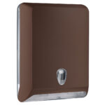 830ma dispenser carta asciugamani v c z marrone colored marplast
