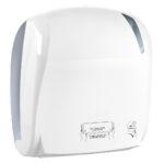 884 dispenser carta asciugamani automatico bianco skin marplast