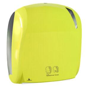 885flou dispenser carta asciugamani elettronico antibacterial fluo marplast