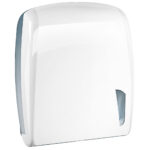 901 dispenser carta asciugamani intercalata bianco skin marplast