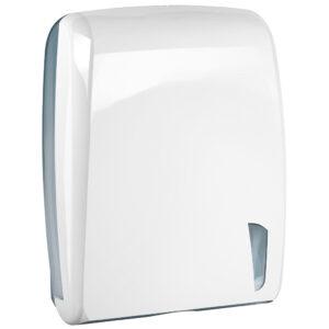 903bi dispenser carta asciugamani intercalata bianco skin marplast