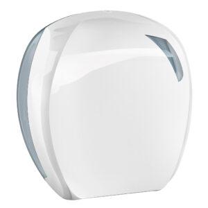 907 dispenser carta igienica mini jumbo bianco skin marplast