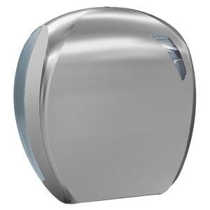 908tit dispenser carta igienica maxi jumbo titanio titanium skin marplast