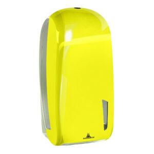 909flu dispenser carta igienica interfogliata antibacterial fluo skin marplast