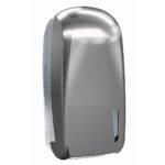 909tit dispenser carta igienica interfogliata titanium skin marplast