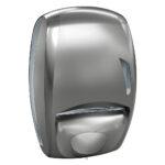 920tit dispenser carta asciugamani sapone duo washroom combinato titanium skin marplast