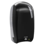 924car dispenser sapone riempimento 1 l elettronico nero carbon  skin marplast