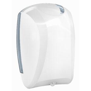 935 dispenser carta asciugamani rotolo sfilamento bianco skin marplast