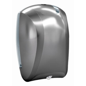 935tit dispenser carta asciugamani rotolo sfilamento titanium skin marplast
