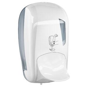 943 dispenser sapone leva gomito 1 l bianco skin marplast