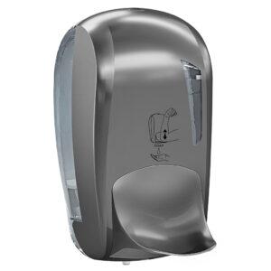 943tit dispenser sapone leva gomito 1 l titanium skin marplast