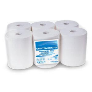 C227.115G asciugamani carta rotolo confezsione 6 rotoli eurocarta