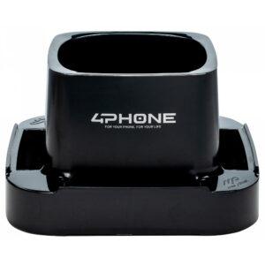 a401ne 4phone supporto per cellulari nero marplast